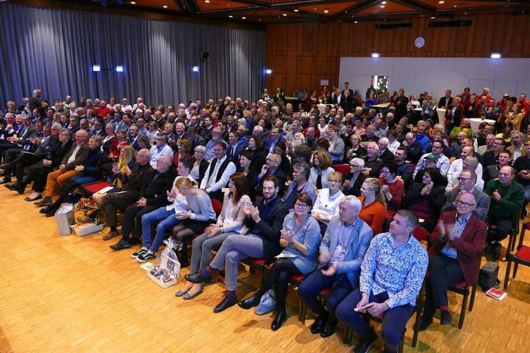 Voller Kurhaussaal für Armin Hinterseh  | Foto: Peter Stellmach