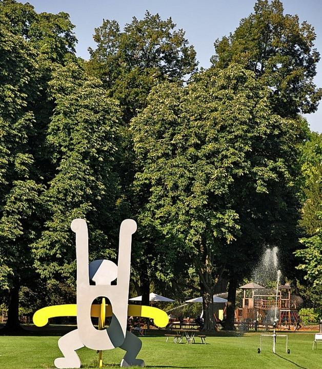 Grünräume, wie der Schützenmattpark, verbessern das lokale Klima.    Foto: Daniel Gramespacher