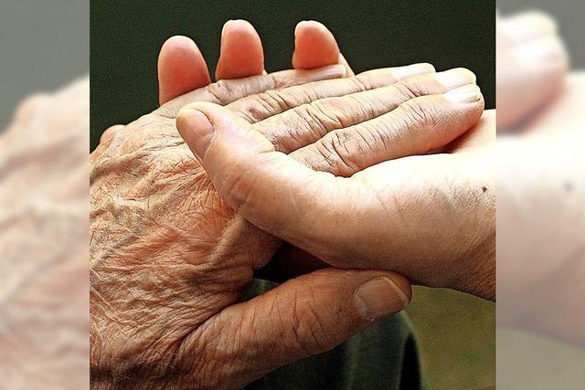 Hilfsbedürftigen Mitmenschen, eine Hand reichen