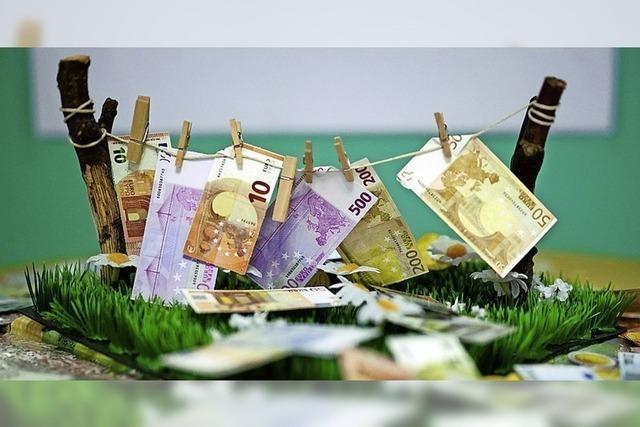 Für Geldwäsche gibt es eine Geldstrafe
