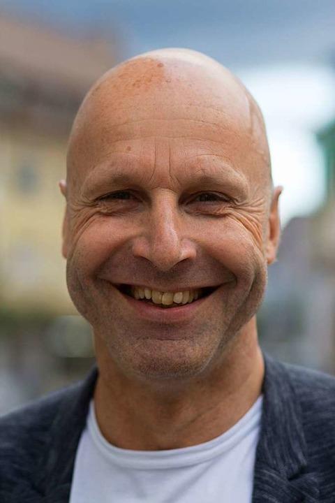 Hört auf: Hans-Peter Riegger, stellvertretender Obermeister  | Foto: Patrik Müller