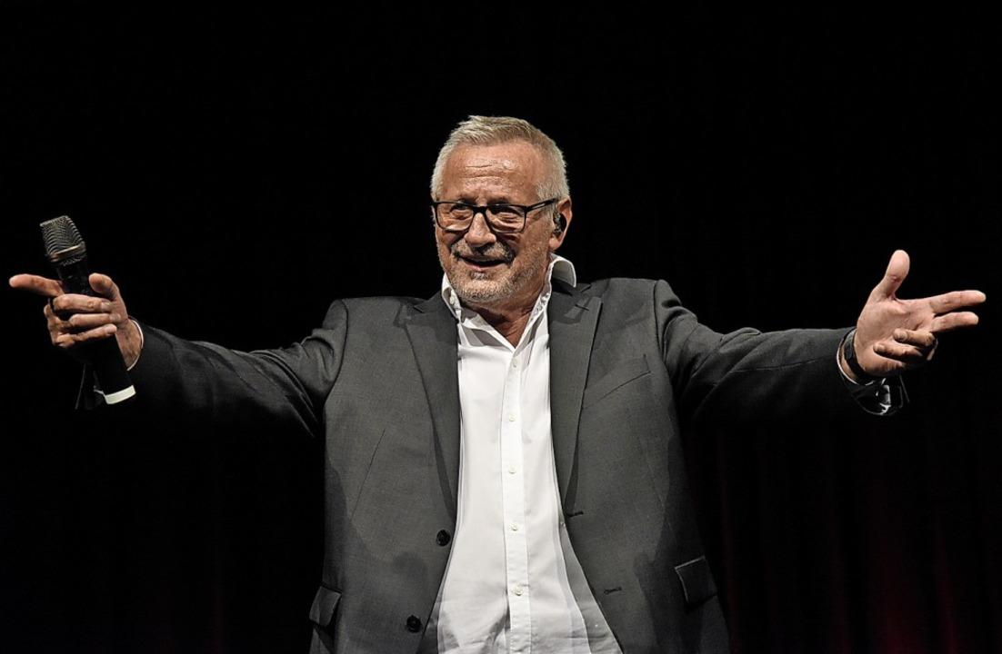 Konstantin Wecker singt das Hohe Lied ...ieder gegen Dumm- und Ungerechtigkeit.  | Foto: Markus Zimmermann
