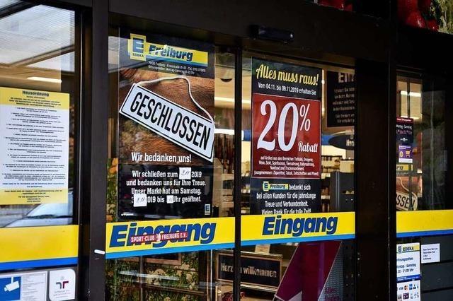 Edeka in der Kreuzstraße im Stühlinger schließt am Samstag