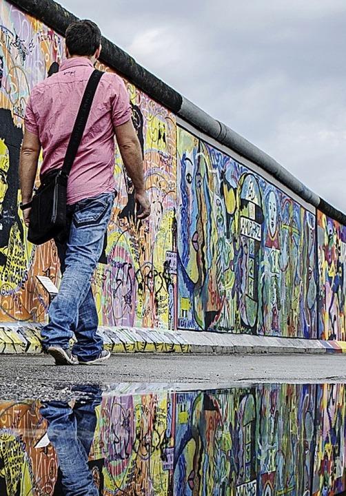 Ein Rest der Mauer heute  | Foto: Paul Zinken