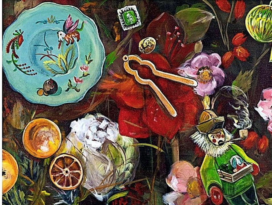 Gemälde von Yvonne Matthes   | Foto: PR