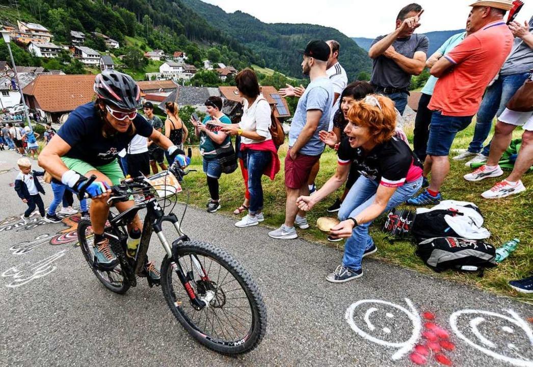 Der Ultra Bike gehört zu Kirchzarten w...n im nächsten Jahr löste Bedauern aus.  | Foto: Patrick Seeger