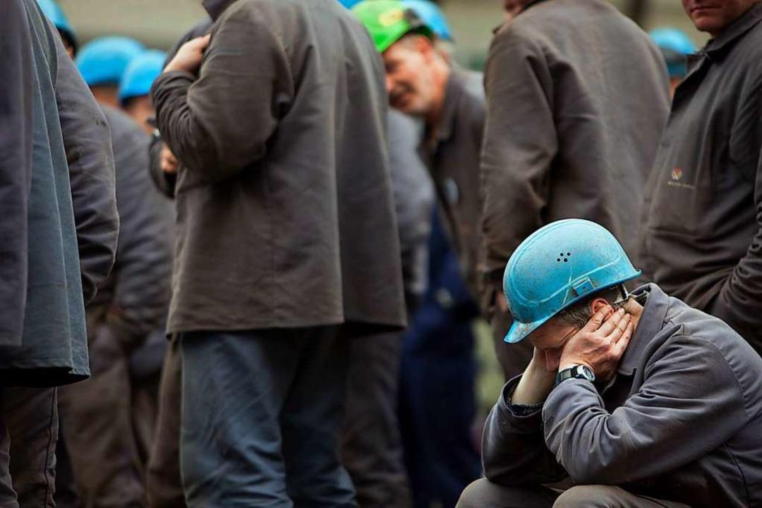 Die Aussichten für die südbadische Industrie sind derzeit nicht rosig.   | Foto: Arno Burgi (dpa)