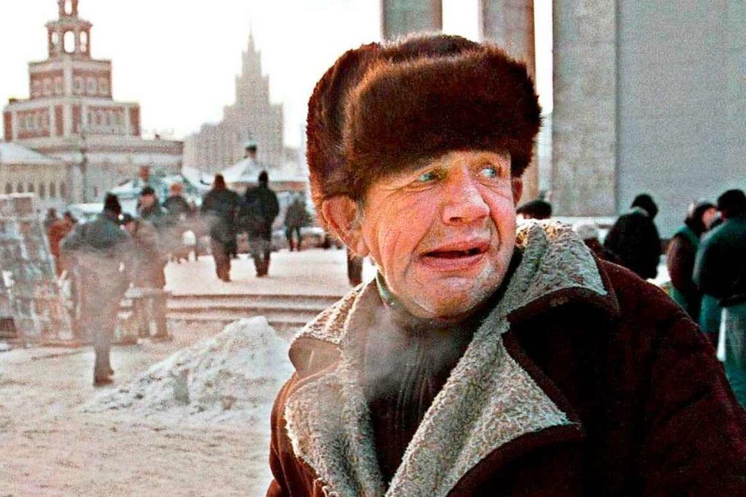 Bis zu 10000 Alkoholisierte erfrieren jedes Jahr in Russland.    Foto: Maxim_Novikov