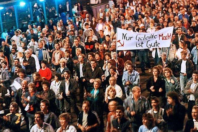 Bürgermeister Guido Schöneboom erinnert sich an das Wendejahr 1989