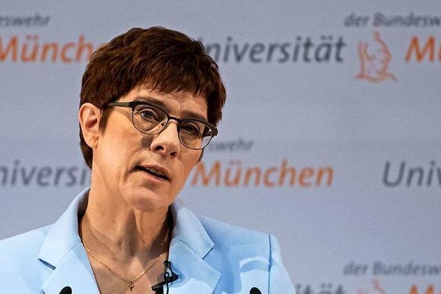 Die Debatte, welche Rolle Deutschland international spielen soll, ist richtig