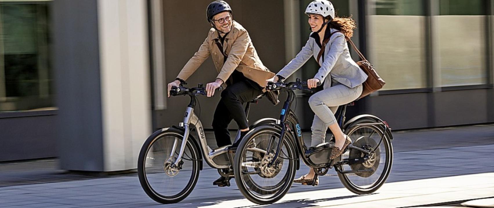 Das Fahrrad gewinnt ständig an Zustimm...n Jüngeren, aber nicht nur bei ihnen.     Foto: Elby