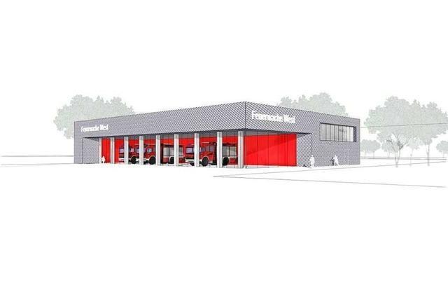 Die neue Feuerwache kostet mehr als sieben Millionen Euro