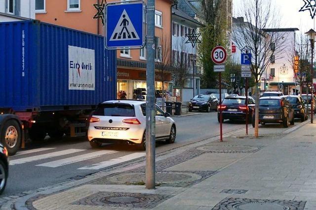 Der Kernstadtbeirat stört sich am Verkehr im Zentrum von Rheinfelden