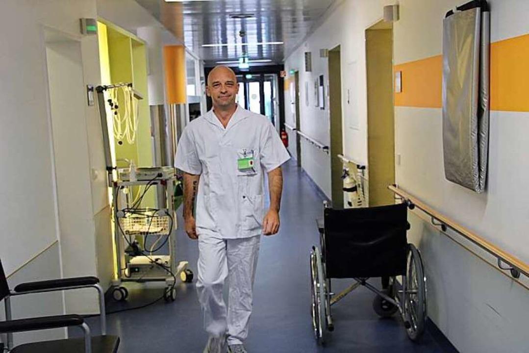 Älter als die Lehrkräfte, die Mitschül...ochrhein-Klinikum in Waldshut-Tiengen.  | Foto: Hochrhein Klinikum GmbH