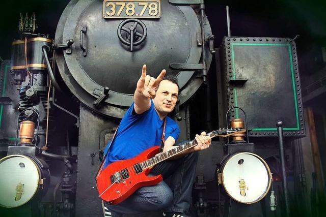 Mario Stracuzzi ist einer der gefragtesten Rockgitarristen der Region