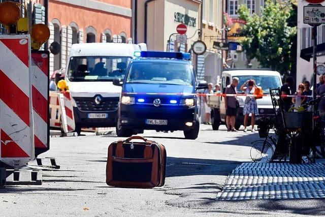 Freispruch für 29-Jährigen nach Bombendrohung in der Freiburger Innenstadt