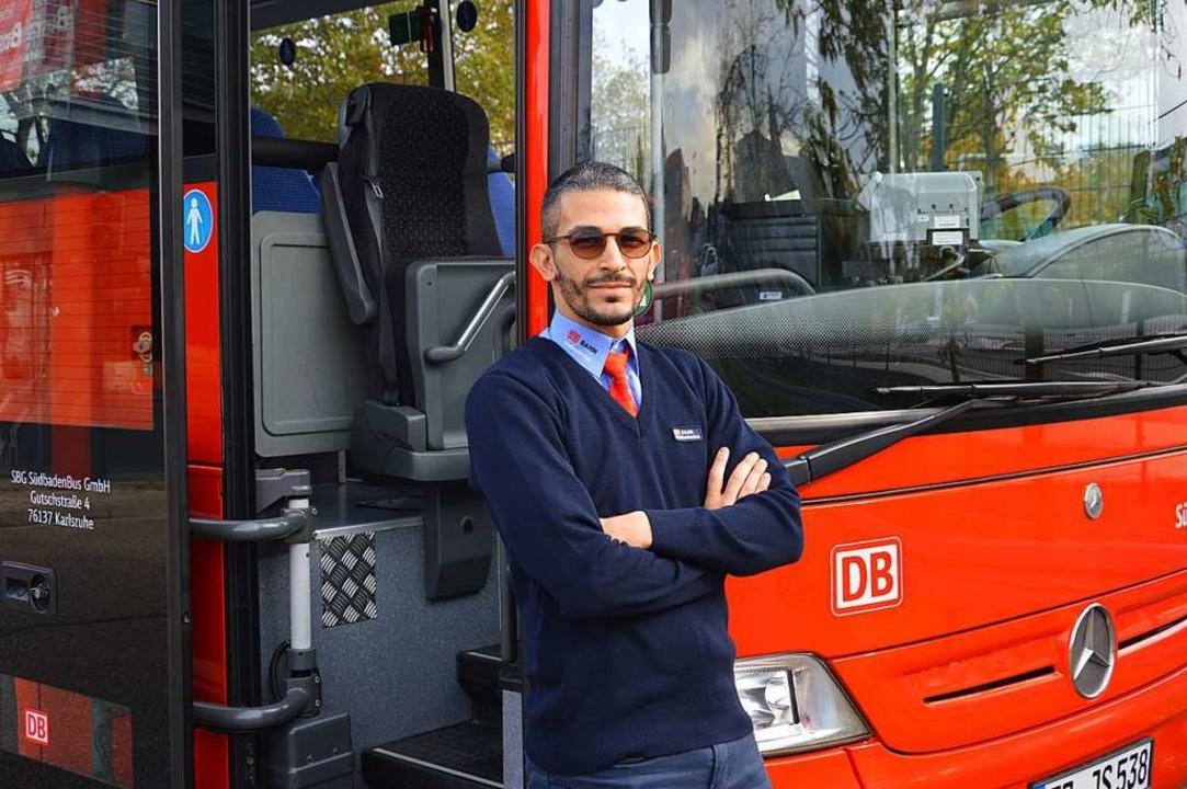 Guiseppe Baccellieri aus Kollnau erler...Berufskraftfahrers im Personenverkehr.  | Foto: Tobias Winterhalter