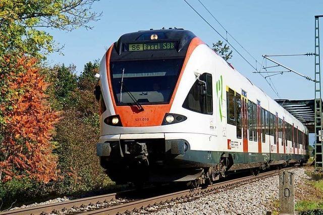 Der 15-Minuten-Takt zwischen Basel und Lörrach soll kommen