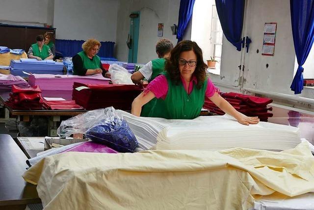 Mit der Textilveredlung an der Wiese schließt das letzte größere Textilwerk in Lörrach