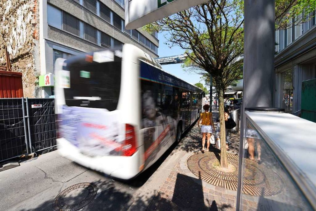 Bus in Lörrach (Symbolbild)  | Foto: Jonas Hirt