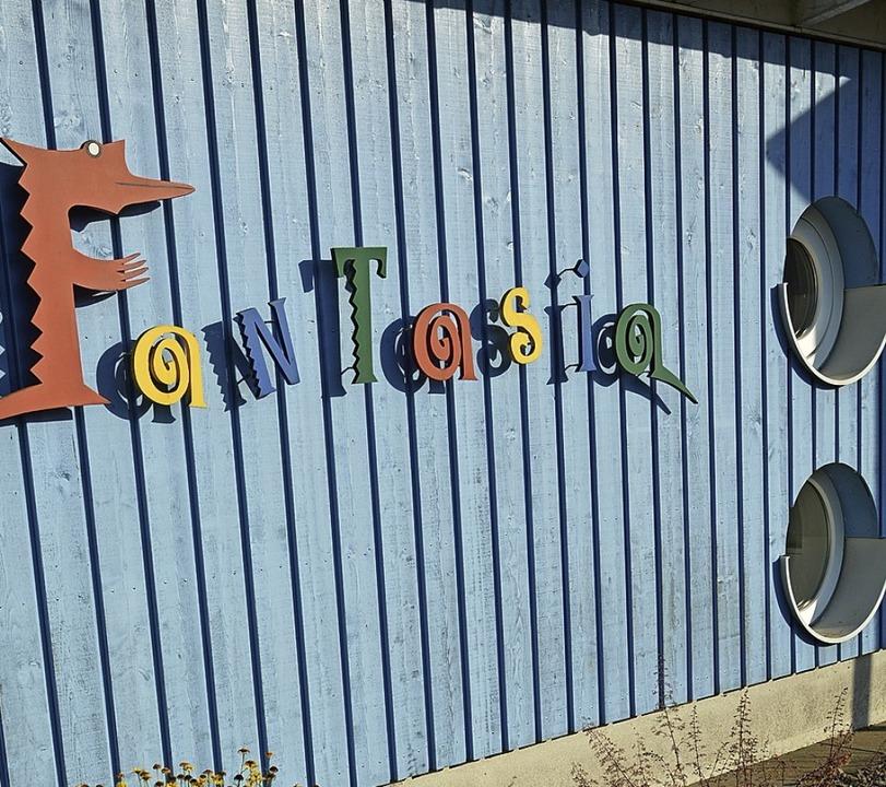 Der Kindergarten Fantasia wurde ausgeb...n Ortsmitte reicht, muss sich zeigen.     Foto: Benedikt Sommer