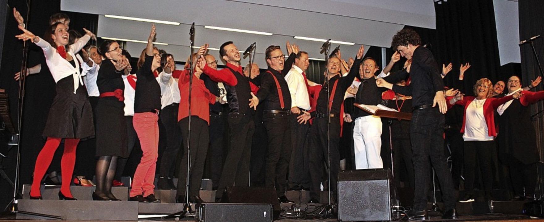 Ein hervorragendes Konzert lieferten d...a und teils in Begleitung ihrer Band.   | Foto: Karin Heiß