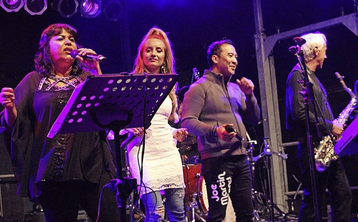 Die Joe Martin Band in Aktion.   | Foto: Gerd Lustig