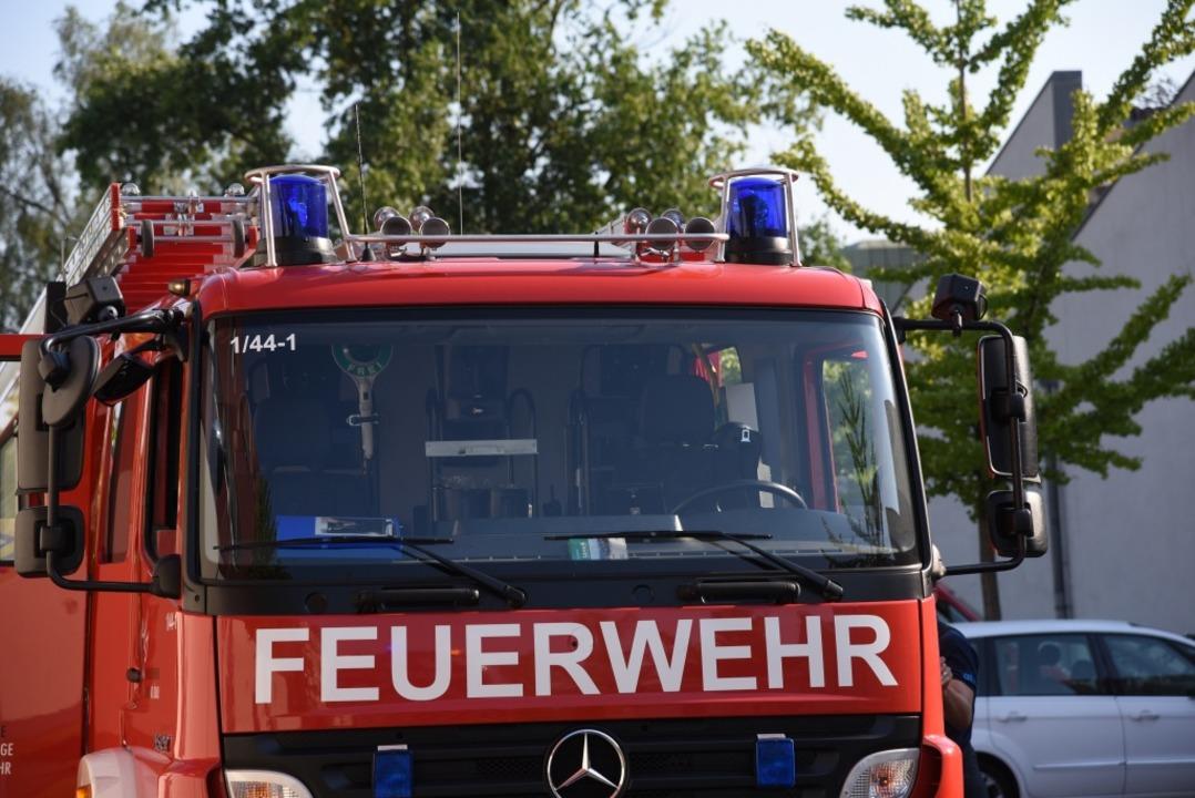 Die Feuerwehr ist im Einsatz (Symbolfoto)  | Foto: Jonas Hirt