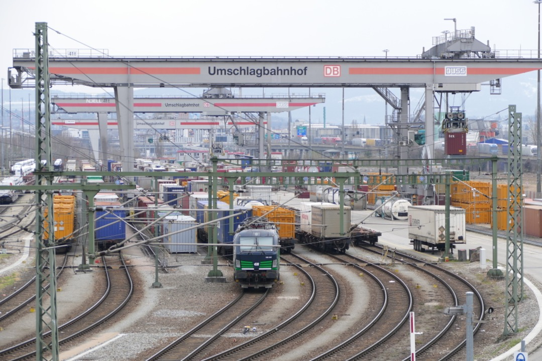 Der Weiler Umschlagbahnhof  | Foto: Victoria Langelott