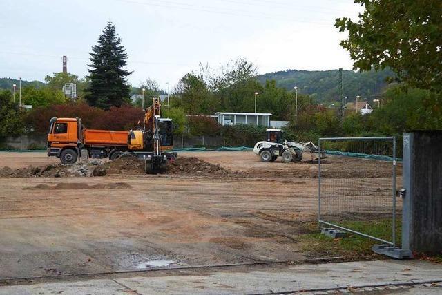 Ab Montag stehen in Lörrach 85 neue Parkplätze zur Verfügung
