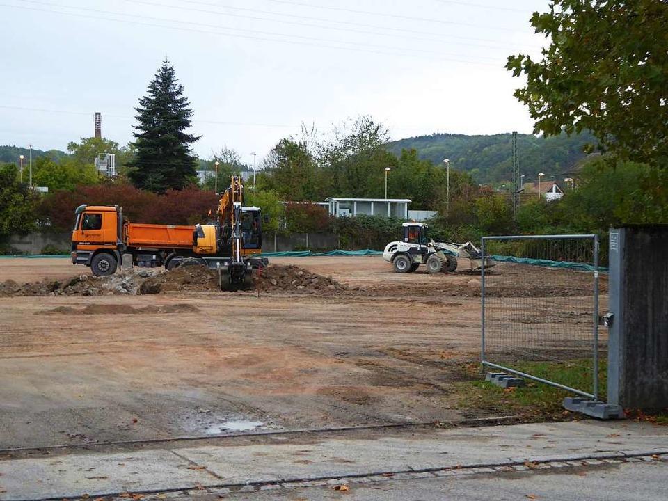 Die Bauarbeiten sind mittlerweile beendet.  | Foto: Sabine Ehrentreich