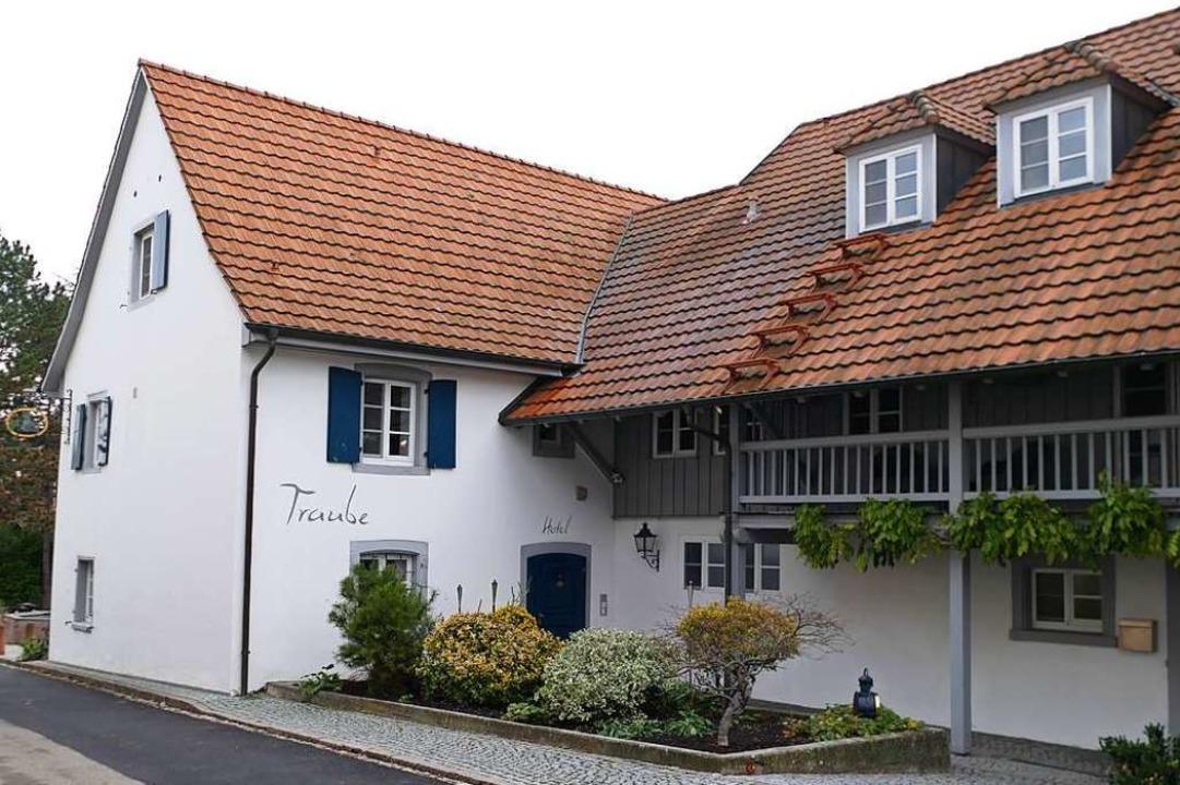 Das Gasthaus Traube in Blansingen  | Foto: Victoria Langelott