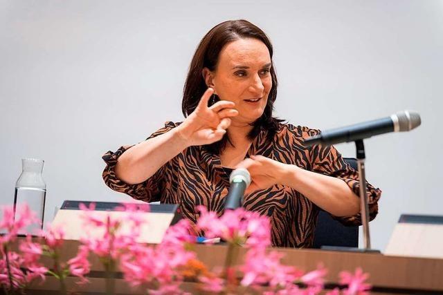 Terézia Mora eröffnet das Freiburger Literaturgespräch