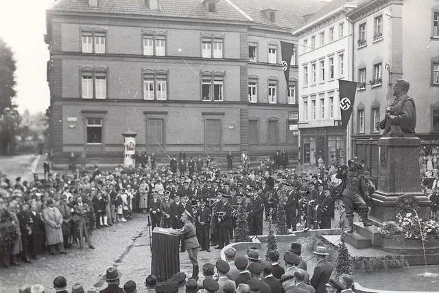 Wie eine Zeitung 1939 in Säckingen Kriegspropaganda für die Nazis machte