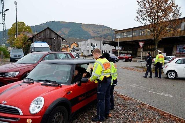 Das Polizeipräsidium zeigte mit dem Sicherheitstag geballte Präsenz