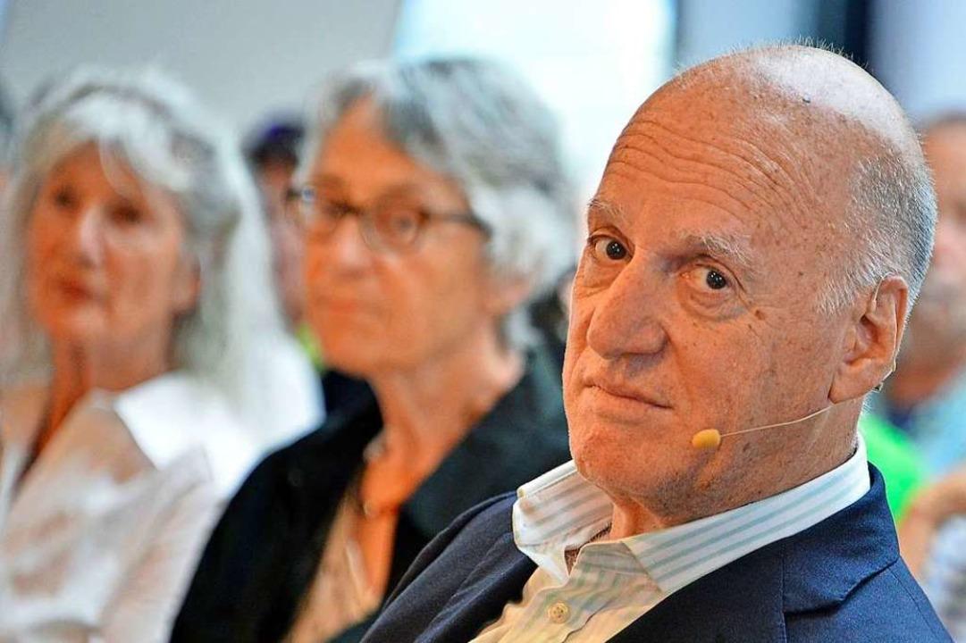 Der deutschstämmige, israelische Autor...nah-Veranstaltung über Antisemitismus.  | Foto: Michael Bamberger