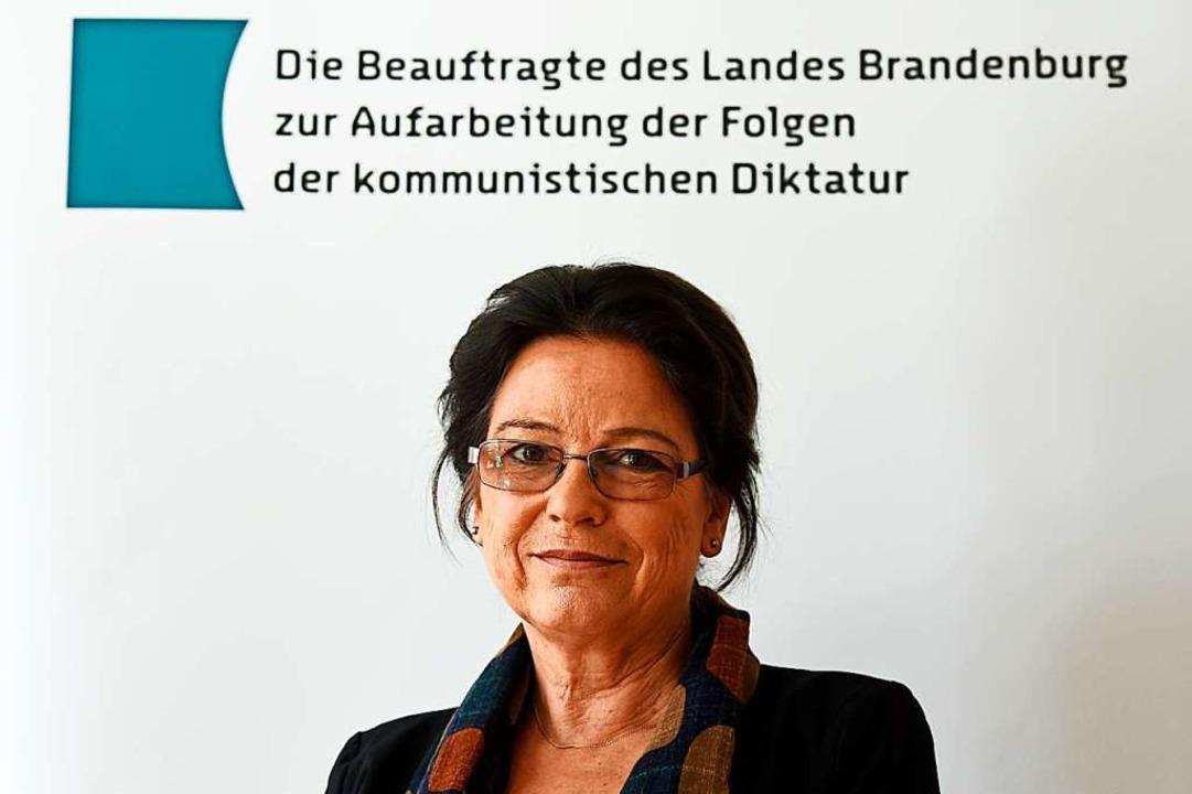 Ulrike Poppe (66), damals  und heute Bürgerrechtlerin  | Foto: Ralf Hirschberger