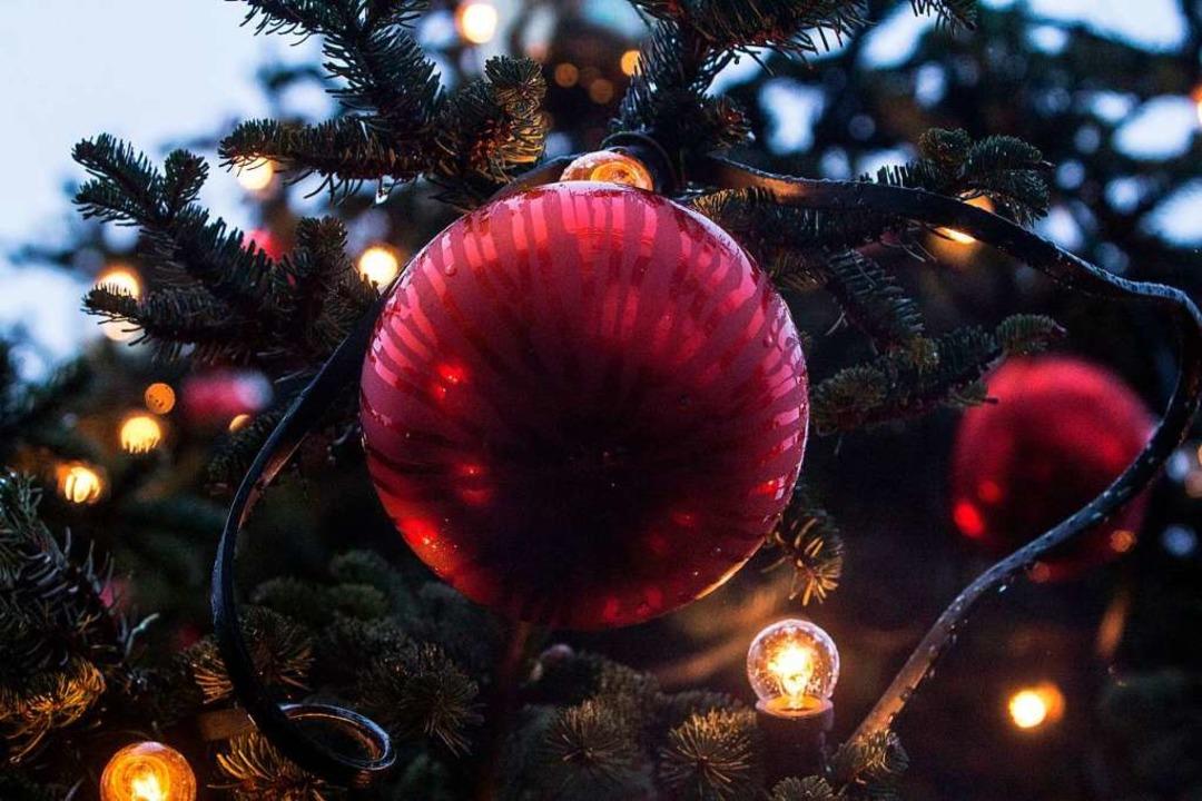 Ein Weihnachtsbaum  | Foto: Patrik Müller