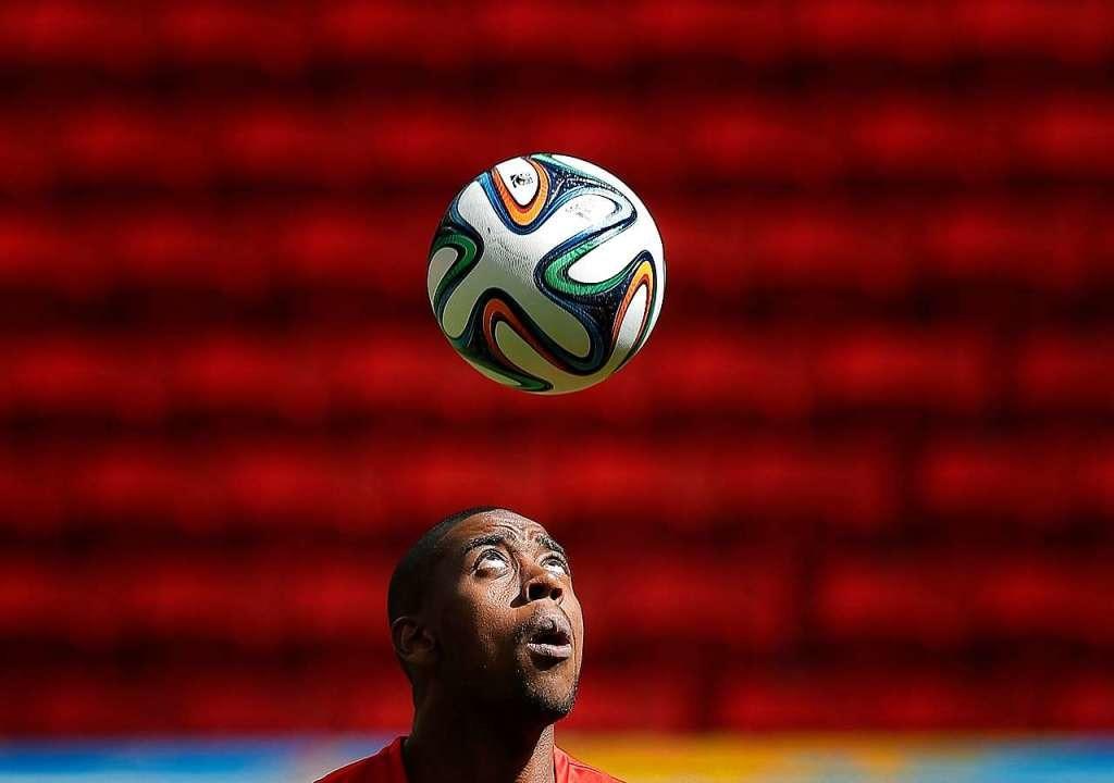 Gelson Fernandes bei der WM 2014.  | Foto: Robert Ghement