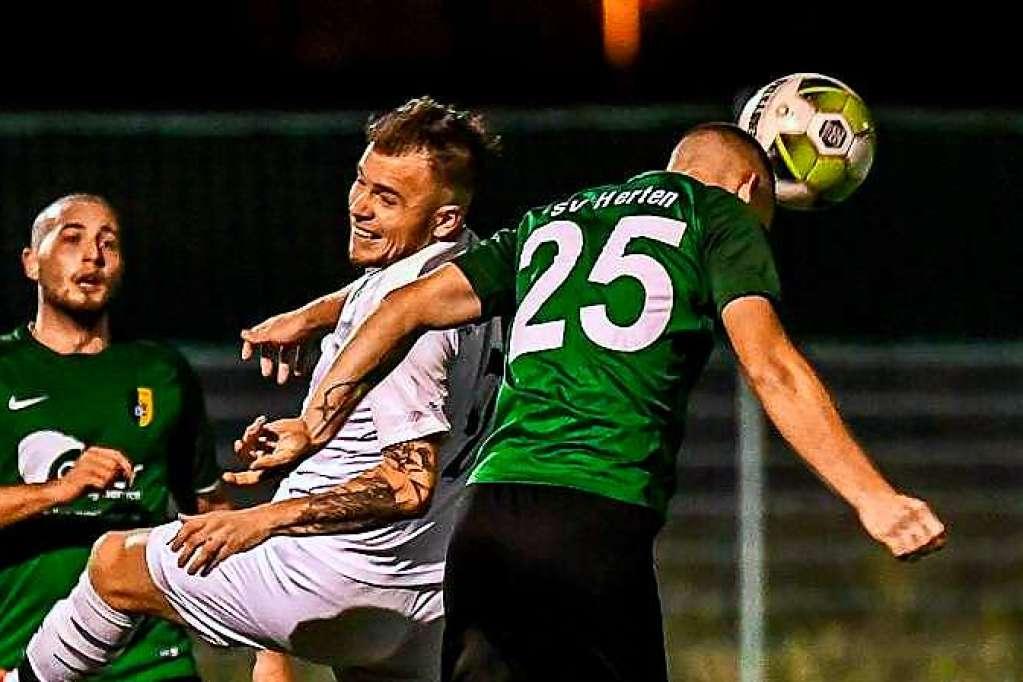 12. Sieg im 13. Spiel: FC Wittlingen gewinnt auch beim SV Herten - Bezirksliga Hochrhein - Badische Zeitung