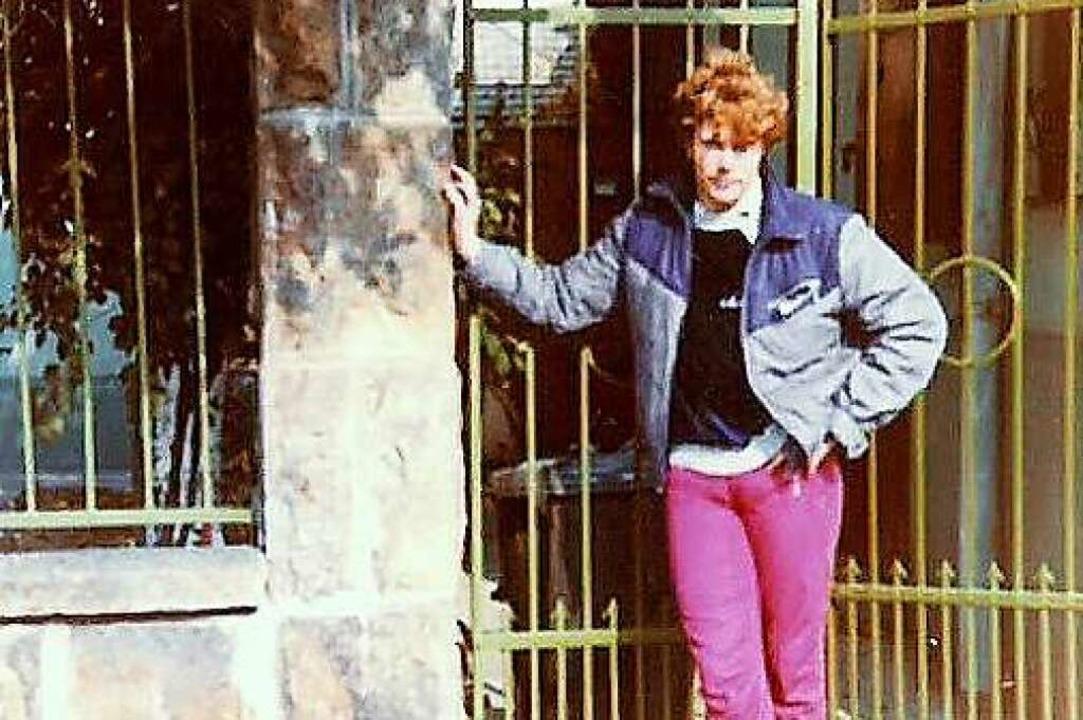 Böttcher 1989  in Warschau.  | Foto: Privat