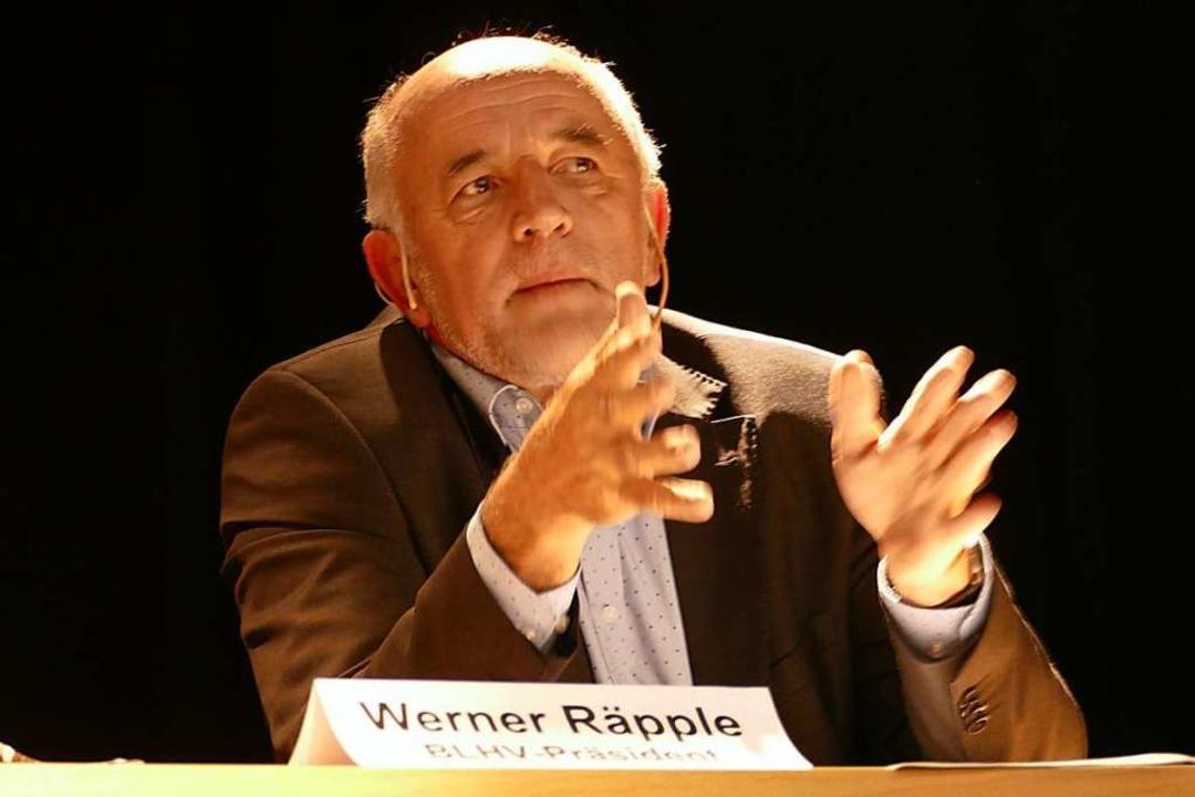 Werner Räpple  | Foto: Ulrich Senf