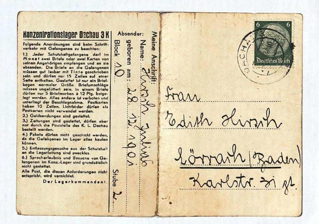 Historische Zeugnisse eines Verbrechens  | Foto: Staatsarchiv Freiburg