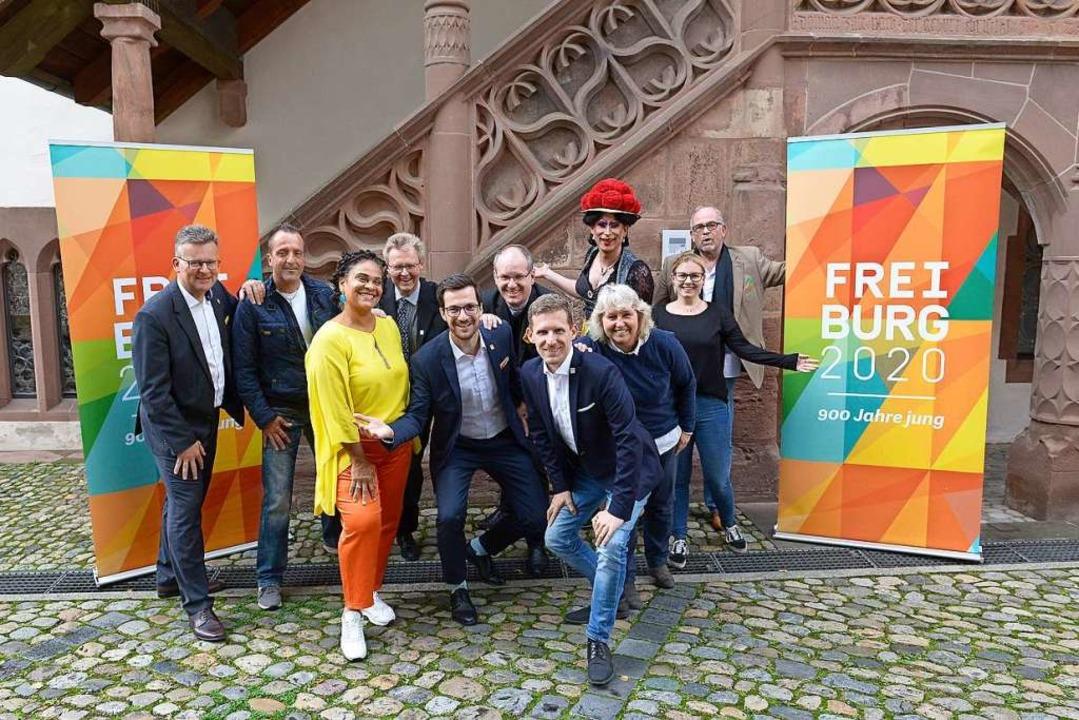 Unter den Botschaftern des Stadtjubilä...ngs sind sie auch da in der Unterzahl.  | Foto: Ingo Schneider