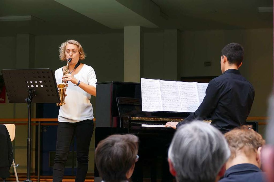 "Buchpremiere ""Waldkirch - da war..., Anna Wachenfeld und Paolo Brenzinger  | Foto: Sylvia Sredniawa"