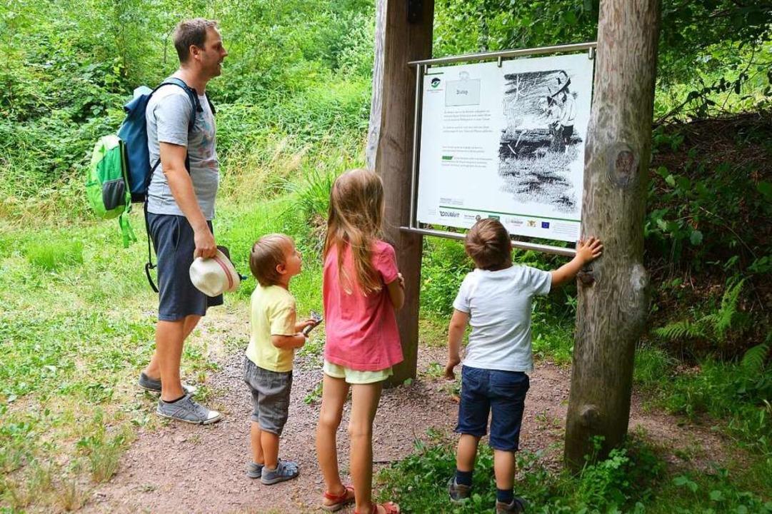 Unterwegs auf dem Räuber-Hotzenplotz-Pfad in Gengenbach  | Foto: Silke Kohlmann
