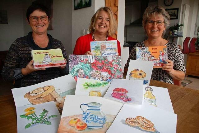 Adelhauser Autorinnen veröffentlichen ihr drittes Kochbuch