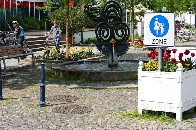 Soll Bad Krozingen eine größere Fußgängerzone bekommen?