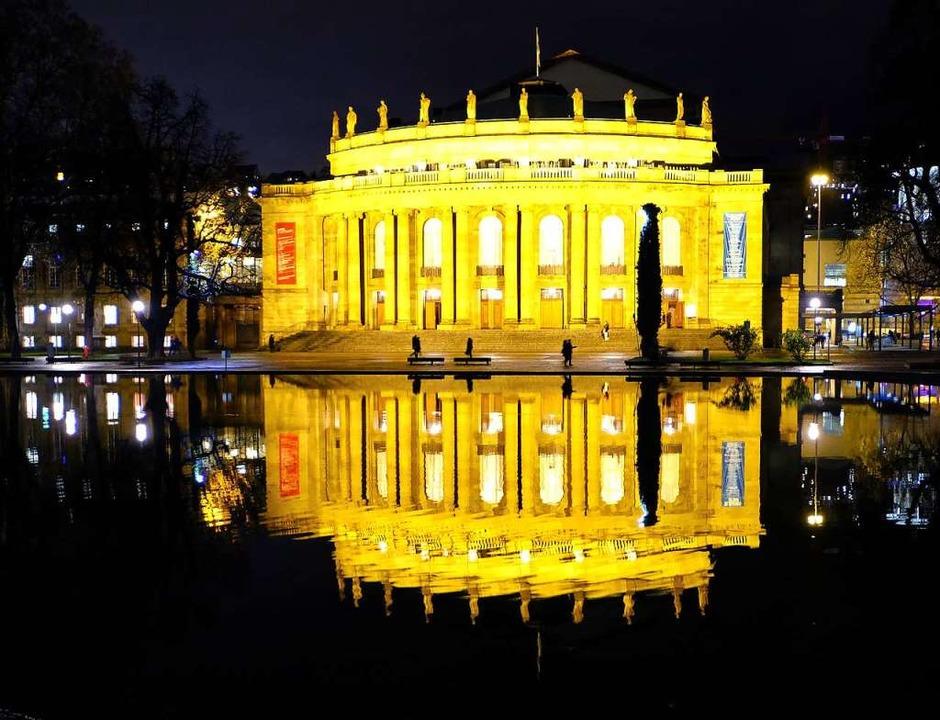 Das Stuttgarter Opernhaus.  | Foto: Bernd Weissbrod