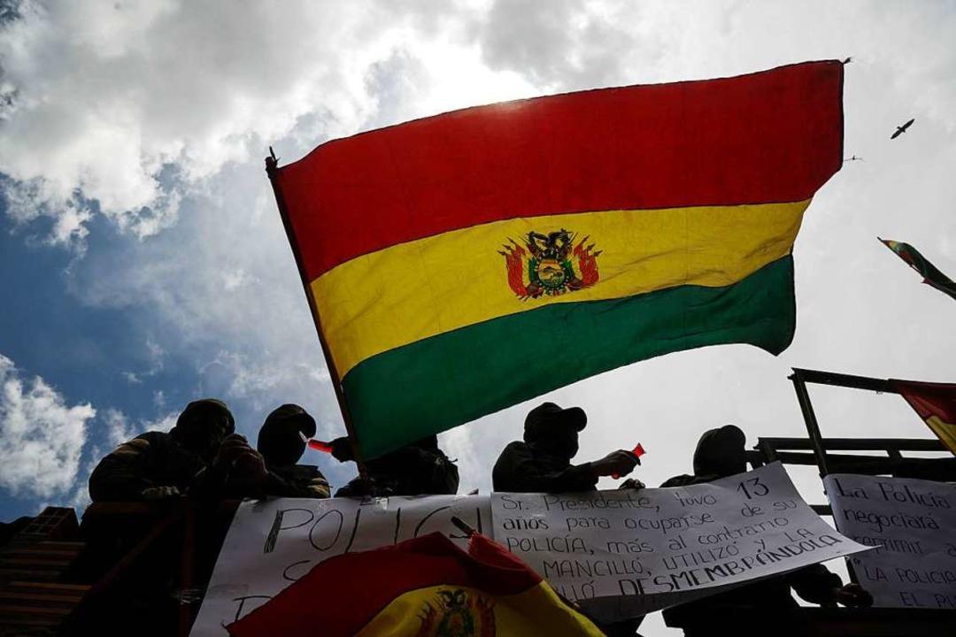 Proteste in Bolivien  | Foto: Gaton Brito (dpa)